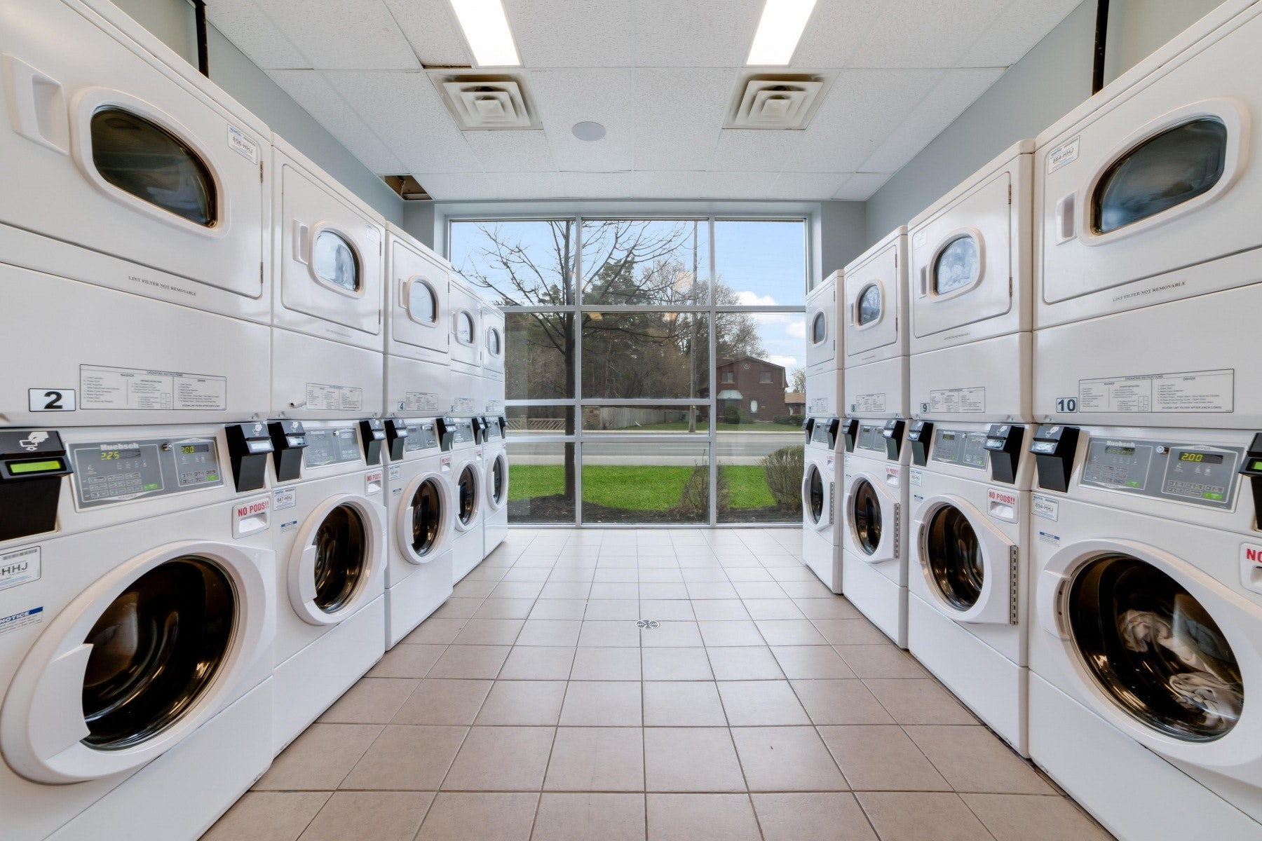multiple washers and dryers