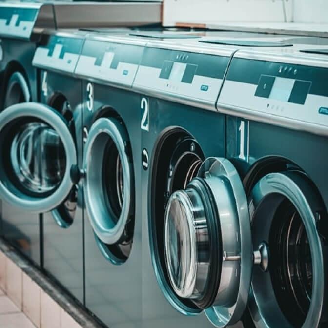 multiple washing machines
